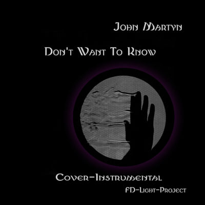 Don't want to know- J. Martyn Cover Instrumental