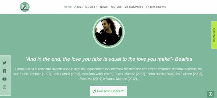 Florat theme per marcellozappatore.com