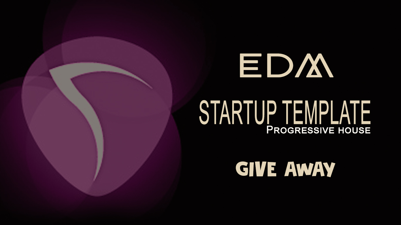 Reaper EDM Startup Template