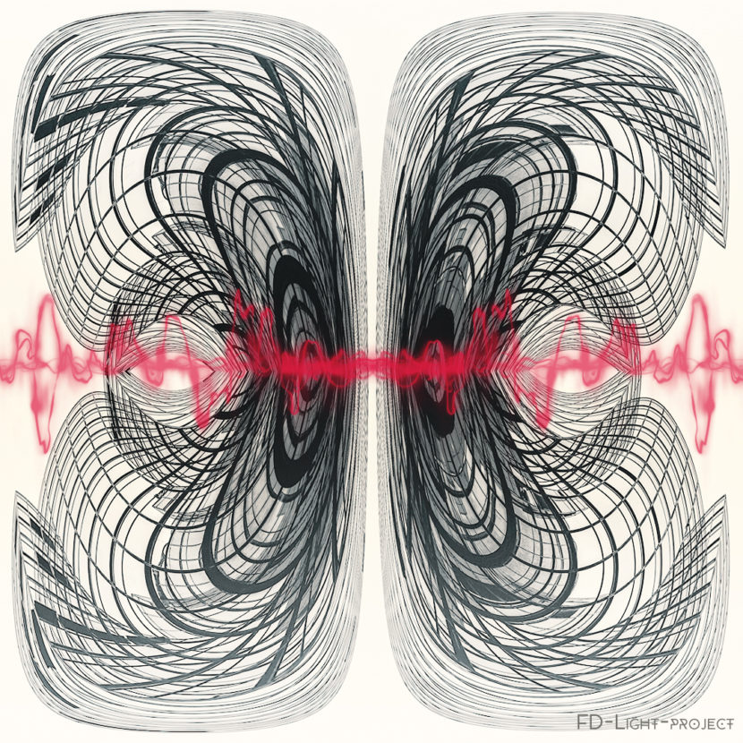 Butterfly electric blood Abstract -FD-Light-Project