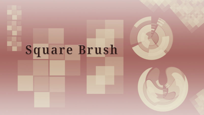 Set di Pennelli square -shape-brush-giveaway